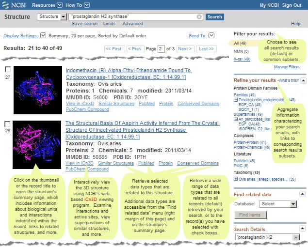 Molecular Modeling Database (MMDB) Help Document