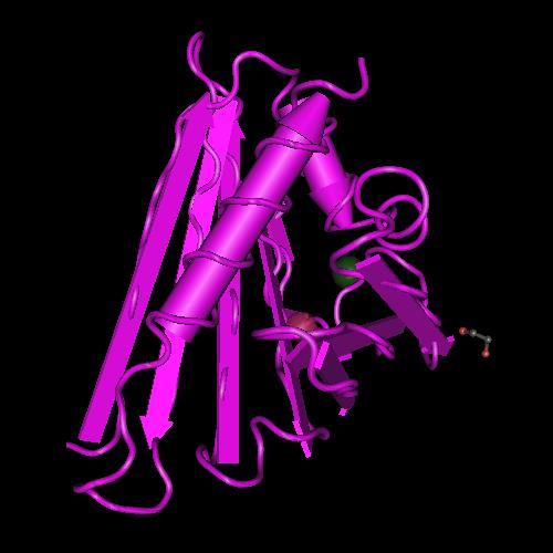 Molecular graphic for MMDB ID 113199 biounit 1