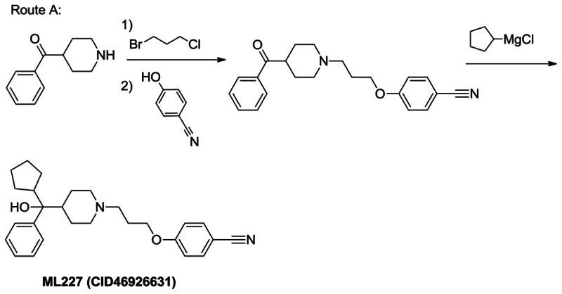 Route A: ML227 Synthesis.