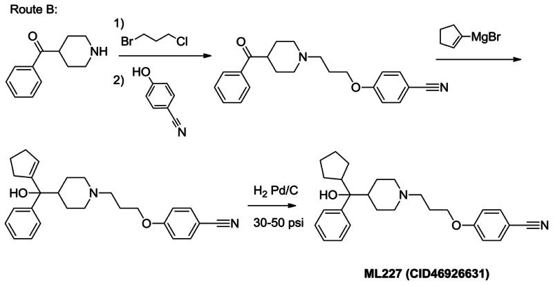Route B: ML227 Synthesis.