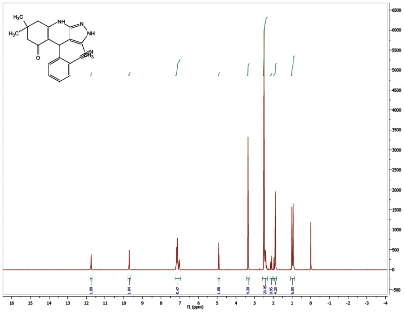 1H NMR Spectrum (300 MHz, CDCl3) of CID 56846661.