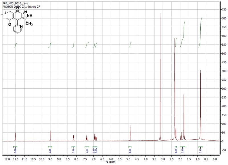 1H NMR Spectrum (300 MHz, CDCl3) of CID 5779597.