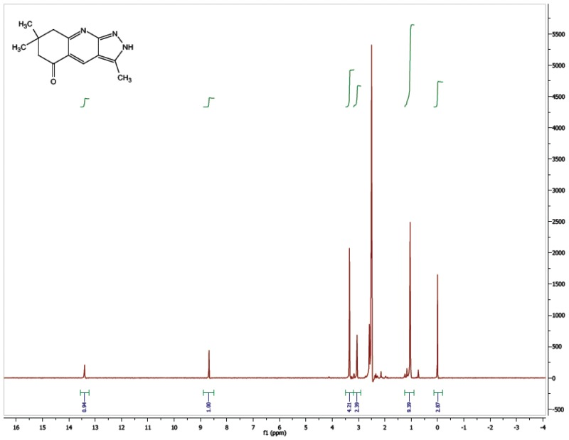 1H NMR Spectrum (300 MHz, CDCl3) of CID 21600856.