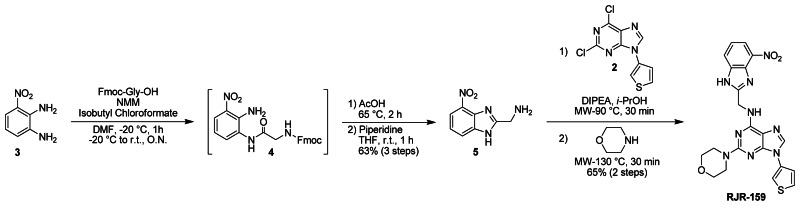 Figure 2. Synthesis of Wee1 Degradation Inhibitor Probe (ML177/CID 45100431).