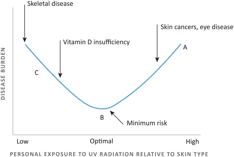 Figure 8 Relationship Between Ultraviolet Uv Radiation Exposure And Disease Burden The Surgeon General S Call To Action To Prevent Skin Cancer Ncbi Bookshelf
