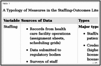 Nurse Staffing and Patient Care Quality and Safety - Patient Safety