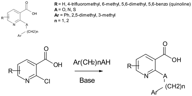 Probe 1. Representative synthetic scheme. Reagents and conditions.