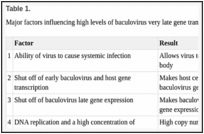 Baculovirus expression technology: Theory and application