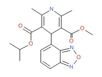 Isradipine chemical structure