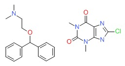 Dimenhydrinate Chemical Structure