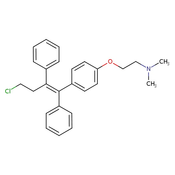 Toremifene chemical structure