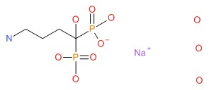 Alendronate Chemical Structure