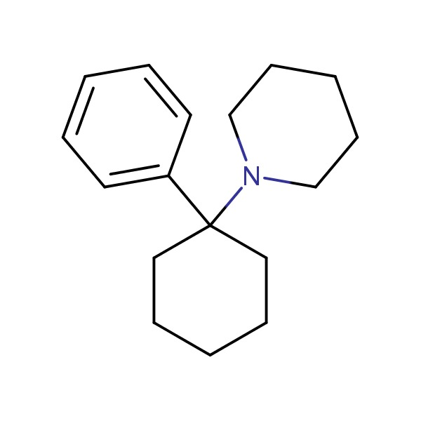 Phencyclidine chemical structure