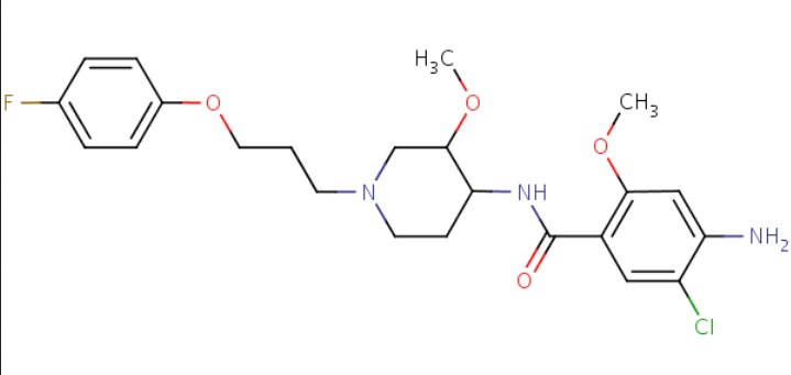 Cisapride Chemical Structure