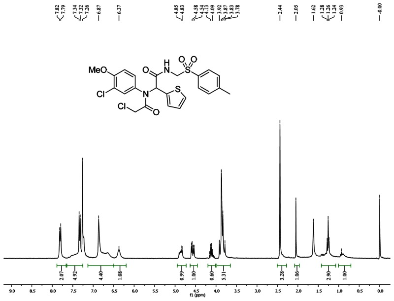 1HNMR Spectra (300 MHz, CDCl3) of Analog CID 49766532.