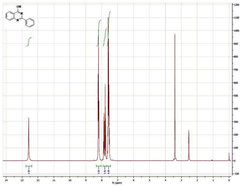 1H NMR (300 MHz, CDCl3) Spectra of Analog CID-279959.