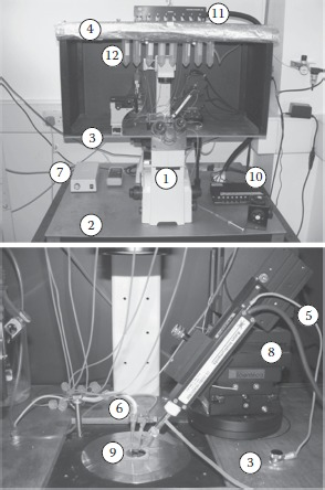 FIGURE 9.1. Patch-clamp system for low noise current recordings.