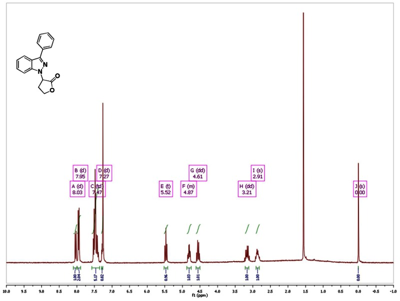 Figure 1h Nmr Spectra 300 Mhz Cdcl3 Of Analog Cid 49835834