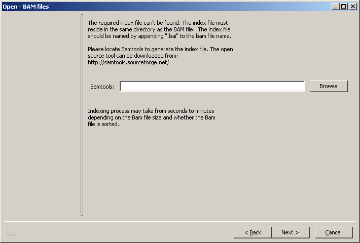 Working with BAM Files