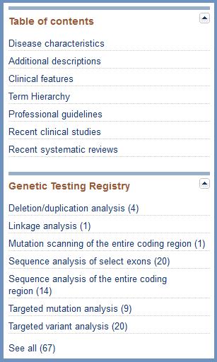 Help - MedGen - NCBI