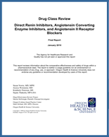 Cover of Drug Class Review: Direct Renin Inhibitors, Angiotensin Converting Enzyme Inhibitors, and Angiotensin II Receptor Blockers