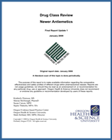 Cover of Drug Class Review: Newer Antiemetics