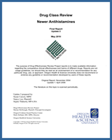 Cover of Drug Class Review: Newer Antihistamines