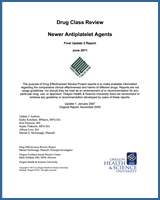 Cover of Drug Class Review: Newer Antiplatelet Agents