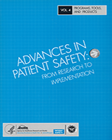Cover of Advances in Patient Safety: From Research to Implementation (Volume 4: Programs, Tools, and Products)