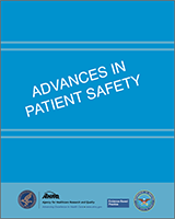 Cover of Advances in Patient Safety