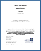 Cover of Drug Class Review: Beta2-Agonists