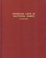 Cover of Approved Lists of Bacterial Names (Amended)