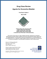 Cover of Drug Class Review: Agents for Overactive Bladder