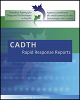 Cover of CADTH Rapid Response Reports