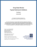 Cover of Drug Class Review: Topical Calcineurin Inhibitors