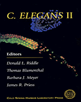 Cover of C. elegans II