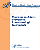 Cover of Migraine in Adults: Preventive Pharmacologic Treatments