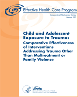 Cover of Child and Adolescent Exposure to Trauma