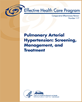 Cover of Pulmonary Arterial Hypertension: Screening, Management, and Treatment