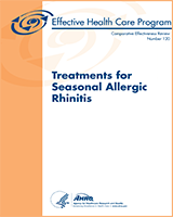 Cover of Treatments for Seasonal Allergic Rhinitis