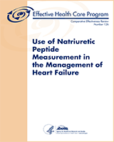 Cover of Use of Natriuretic Peptide Measurement in the Management of Heart Failure
