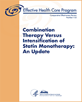 Cover of Combination Therapy Versus Intensification of Statin Monotherapy: An Update