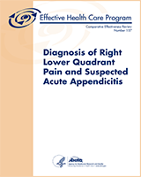 Cover of Diagnosis of Right Lower Quadrant Pain and Suspected Acute Appendicitis
