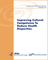 Cover of Improving Cultural Competence to Reduce Health Disparities