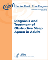 Cover of Diagnosis and Treatment of Obstructive Sleep Apnea in Adults