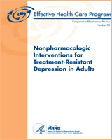 Cover of Nonpharmacologic Interventions for Treatment-Resistant Depression in Adults