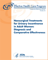 Cover of Nonsurgical Treatments for Urinary Incontinence in Adult Women: Diagnosis and Comparative Effectiveness