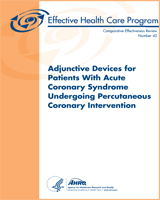 Cover of Adjunctive Devices for Patients With Acute Coronary Syndrome Undergoing Percutaneous Coronary Intervention