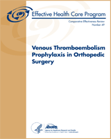 Cover of Venous Thromboembolism Prophylaxis in Orthopedic Surgery
