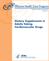 Cover of Dietary Supplements in Adults Taking Cardiovascular Drugs